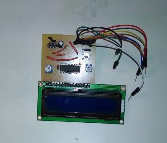 LCD Breadboard Debugging Tool