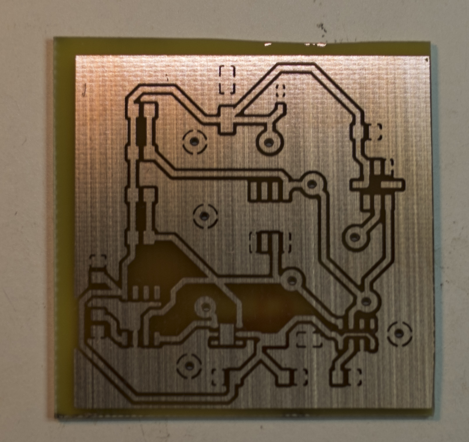 Kevin Kesslers Projects Various Things That I Do To Keep Boredom Etching A Circuit Board Pcb After
